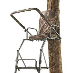 16 ft. Deluxe Ladder Tree Stand Footrest Deer Hunting Chair