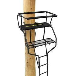 River's Edge Treestands Hunting Treestand 18ft 2-Man with Cu